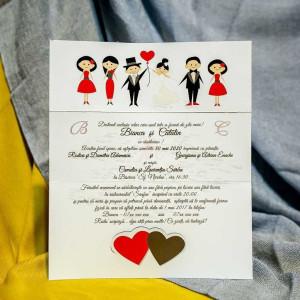 Invitatie de nunta 229 NEW BEST