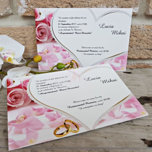 Invitatie de nunta 2652 POPULAR