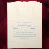 Invitatie de nunta multicolora 124046 TBZ