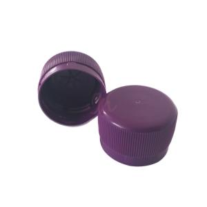 Capac plastic prefiletat mov D 28 mm