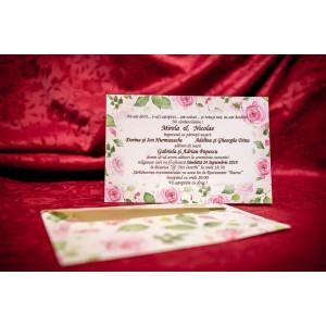 Invitatie de nunta 4025 BUKET-BEST