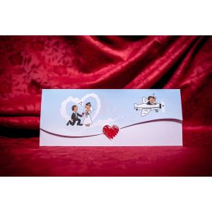 Invitatie de nunta 5020 BUKET-BEST
